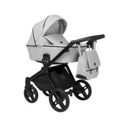 Детская коляска LONEX EMOTION XT 3 В 1 (серый)