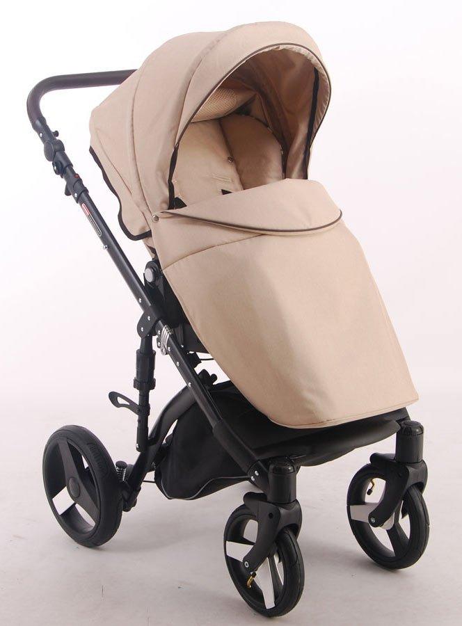 Детская коляска LONEX COMFORT PRESTIGE (LEN) 3 В 1 (бежевый)