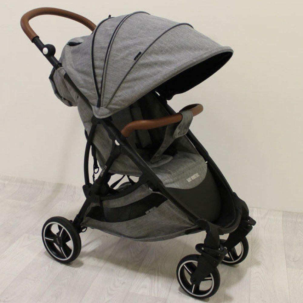 Детская коляска Baby Monsters Compact 2 в 1 (серый)