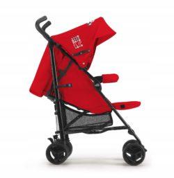 Детская коляска Cam Flip трость (красный)