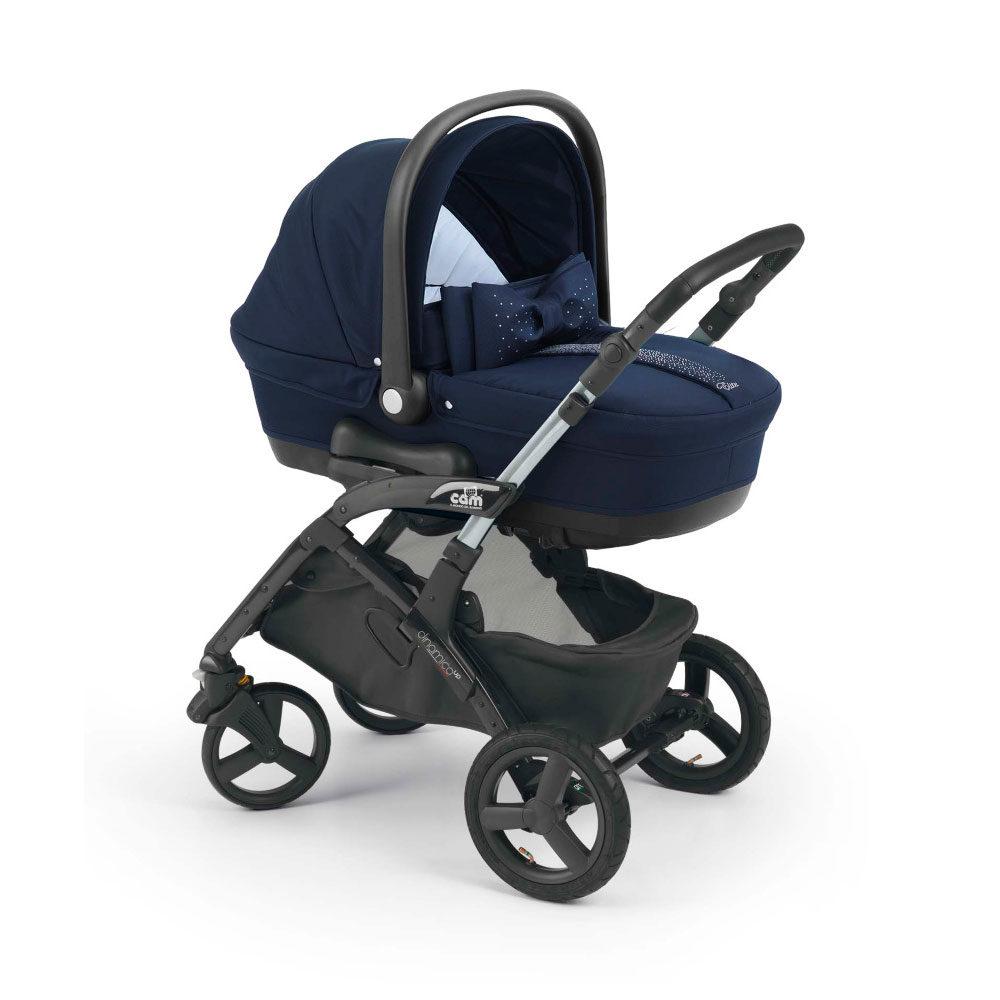 Детская коляска CAM Dinamico Elite UP 3 в 1 (синий)