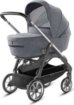 Детская коляска Inglesina Aptica System Quattro 4 в 1 (темно-серый)
