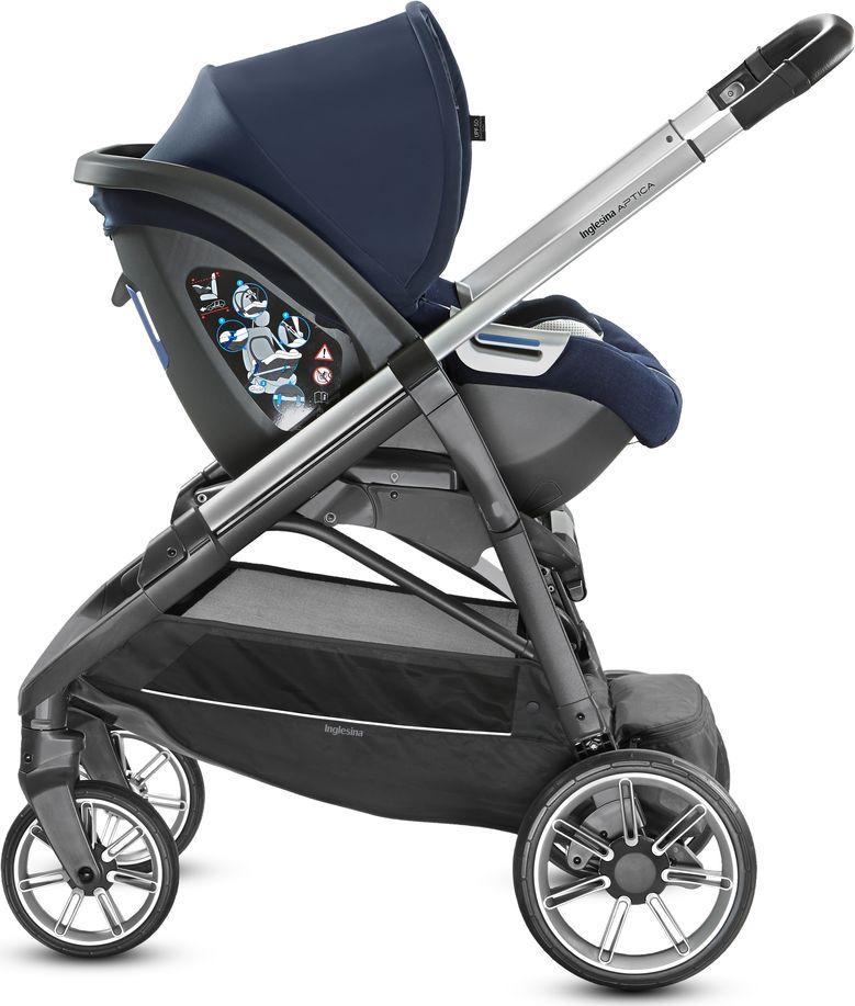 Детская коляска Inglesina Aptica System Quattro 4 в 1 (темно-синий)
