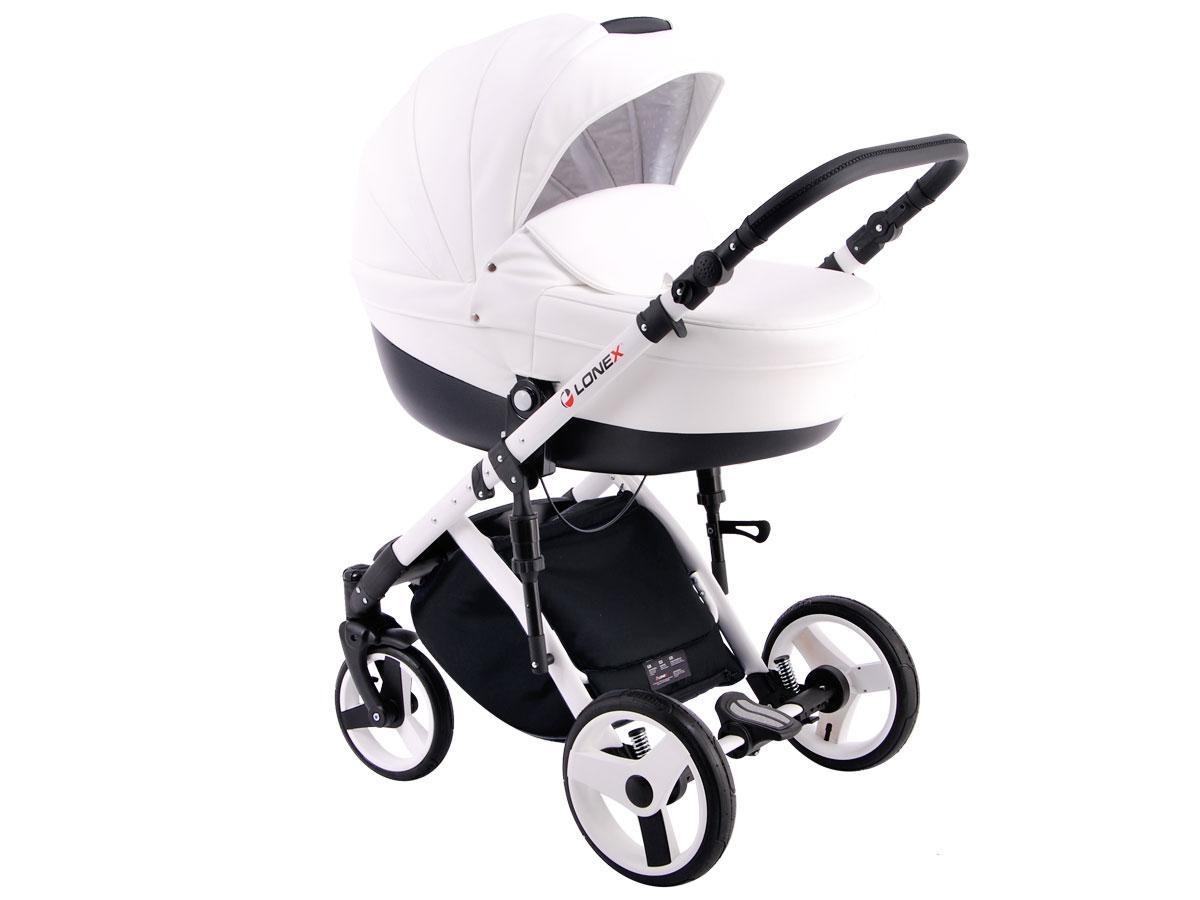 Детская коляска LONEX COMFORT SPECIAL 3 В 1 (белый)