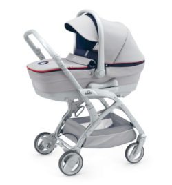 Детская коляска Cam Fluido 2 в 1 (серый)
