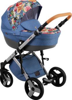 Детская коляска LONEX COMFORT CARRELLO 3 В 1 (Голубой)