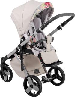 Детская коляска LONEX COMFORT CARRELLO 3 В 1 (Серо-бежевый)