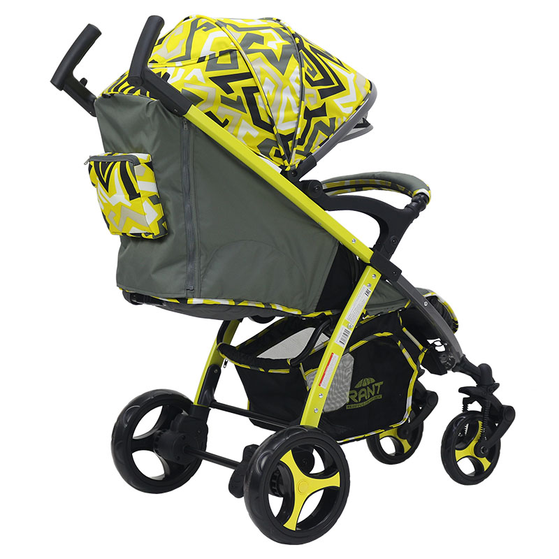 Детская коляска Rant Cosmic Alu (желтый)