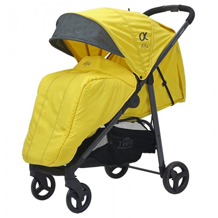 Коляска Rant Alfa — нов. коллекция (желтый)