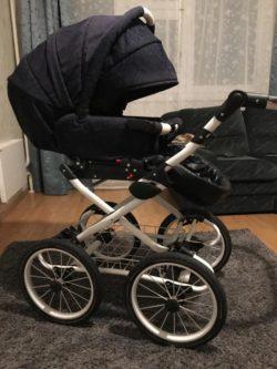 Детская коляска Esperanza Victoria Classic 2 в 1 (черный)