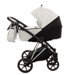 Коляска детская 3 в 1 TAKO JUMPER-V (бело-коричневый)