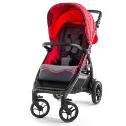Детская коляска Peg-Perego Booklet 50S (Красный/серый)