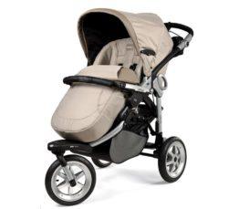 Детская коляска Peg-Perego GT3 Completo Modular system 3 в 1 (Бежевый)