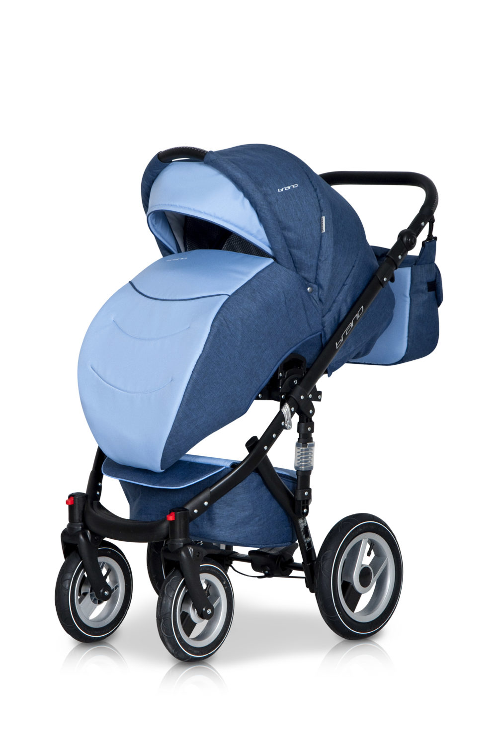 Детская коляска Riko Brano 2 в 1 (Синий/голубой)
