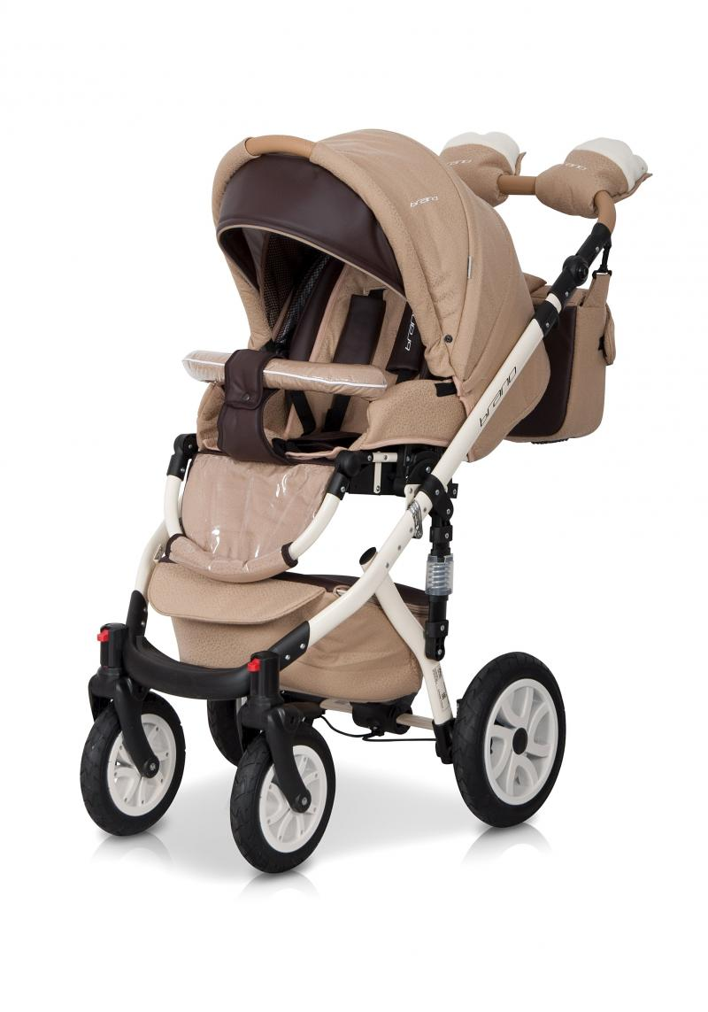 Детская коляска Riko Brano ecco 2 в 1 (Бежевый)