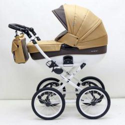 Детская коляска Riko Brano Ecco Prestige 2 в 1 (Бежевый/коричневый)