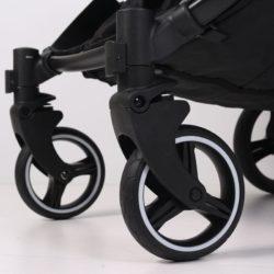 Прогулочная коляска для двойни Rant Biplane (черный)