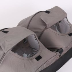 Прогулочная коляска для двойни Rant Biplane (серый)