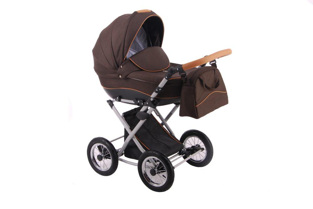 Детская коляска LONEX PARRILLA 2 В 1 (темно-коричневый)