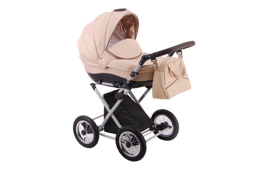 Детская коляска LONEX PARRILLA 2 В 1 (бежевый)