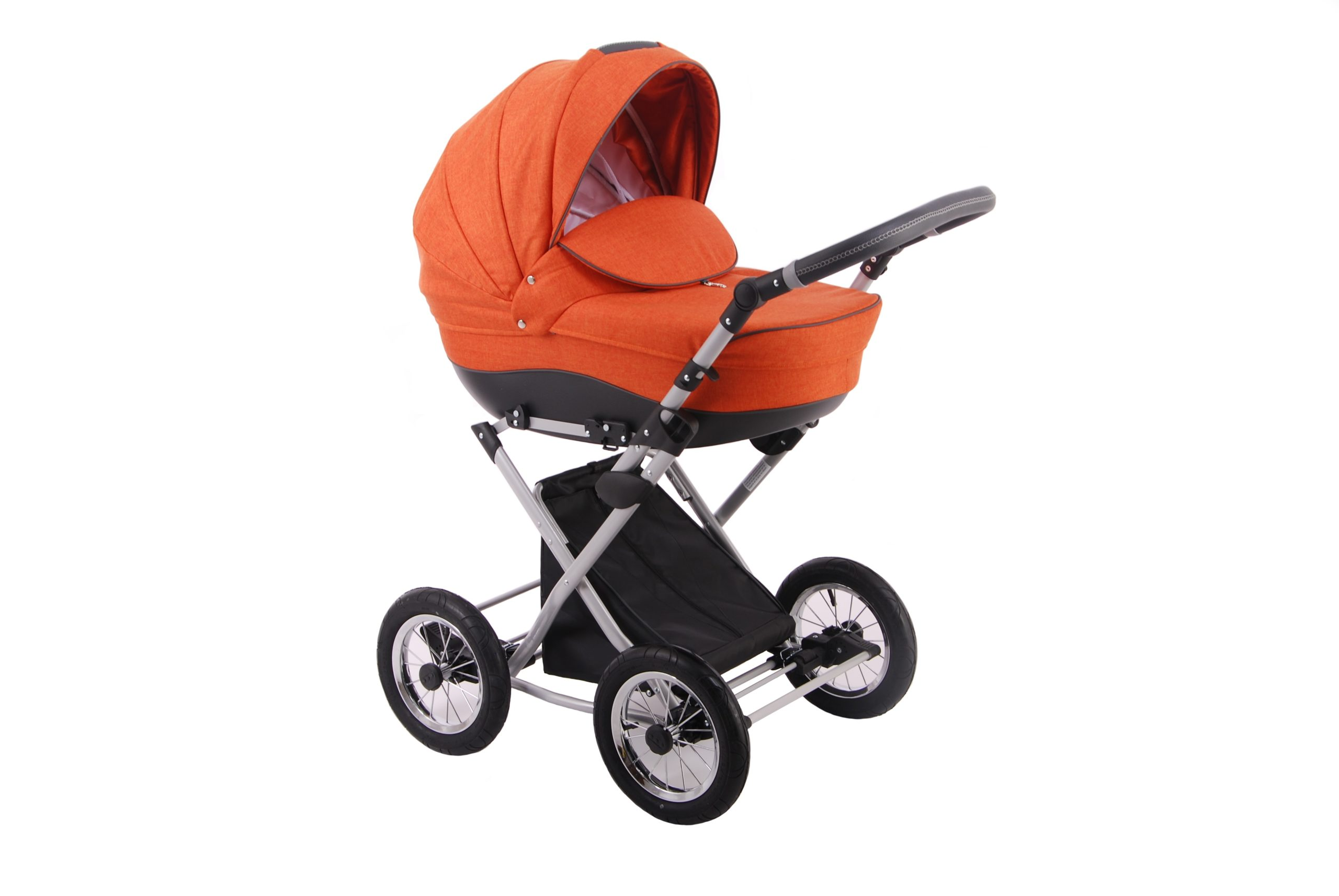Детская коляска LONEX PARRILLA 2 В 1 (оранжевый)