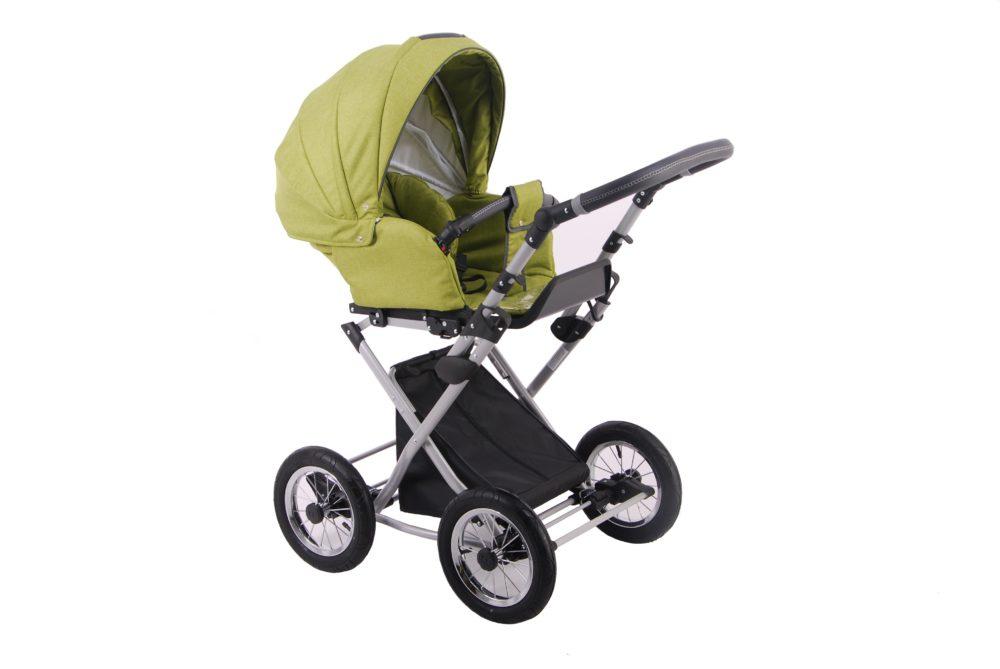 Детская коляска LONEX PARRILLA 2 В 1 (зеленый)