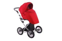 Детская коляска LONEX PARRILLA 2 В 1 (красный)