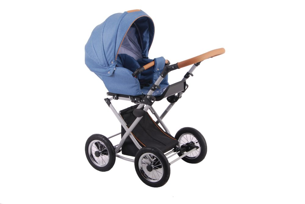 Детская коляска LONEX PARRILLA 2 В 1 (голубой)