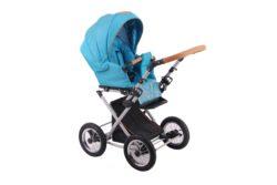 Детская коляска LONEX PARRILLA 2 В 1 (светло-голубой)