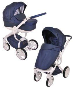 Детская коляска LONEX COSMO 2 В 1 (синий)