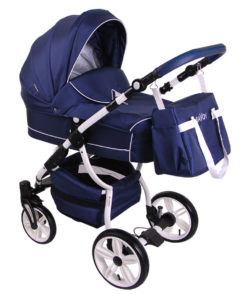 Детская коляска LONEX SAVOY 2 В 1 (синий)