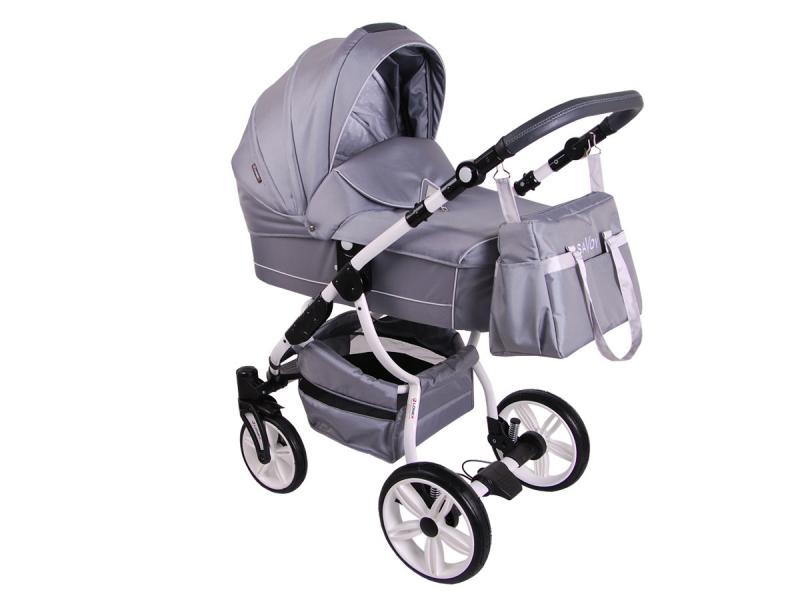 Детская коляска LONEX SAVOY 2 В 1 (серый)