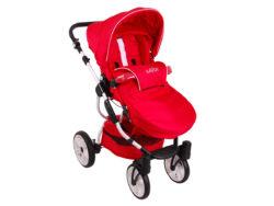 Детская коляска LONEX SAVOY 2 В 1 (красный)