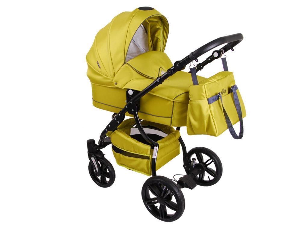 Детская коляска LONEX SAVOY 2 В 1 (желтый)