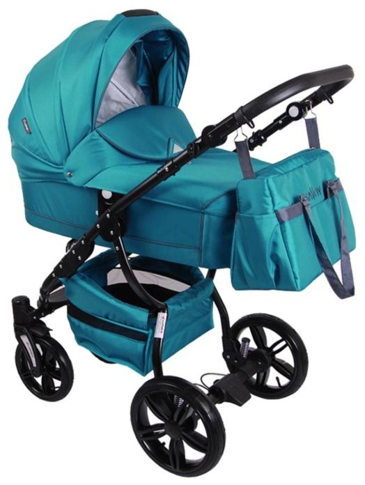 Детская коляска LONEX SAVOY 2 В 1 (бирюзовый)