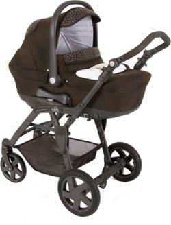Детская коляска CAM Dinamico Fashion 3 в 1 (коричневый)