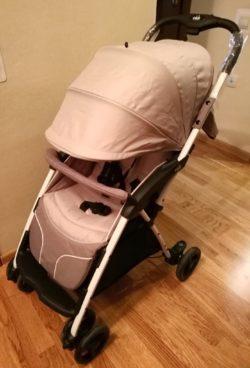 Детская коляска CAM Curvi (Розовый)
