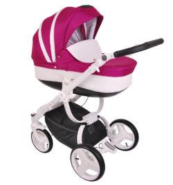 Детская коляска LONEX COSMO 3 В 1 (Розовый)