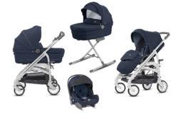 Детская коляска Inglesina Trilogy System 3 в 1 (синий)