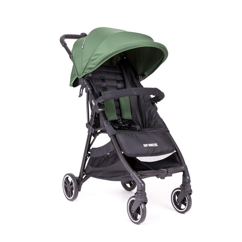 Детская коляска Baby Monsters Kuki (зеленый)