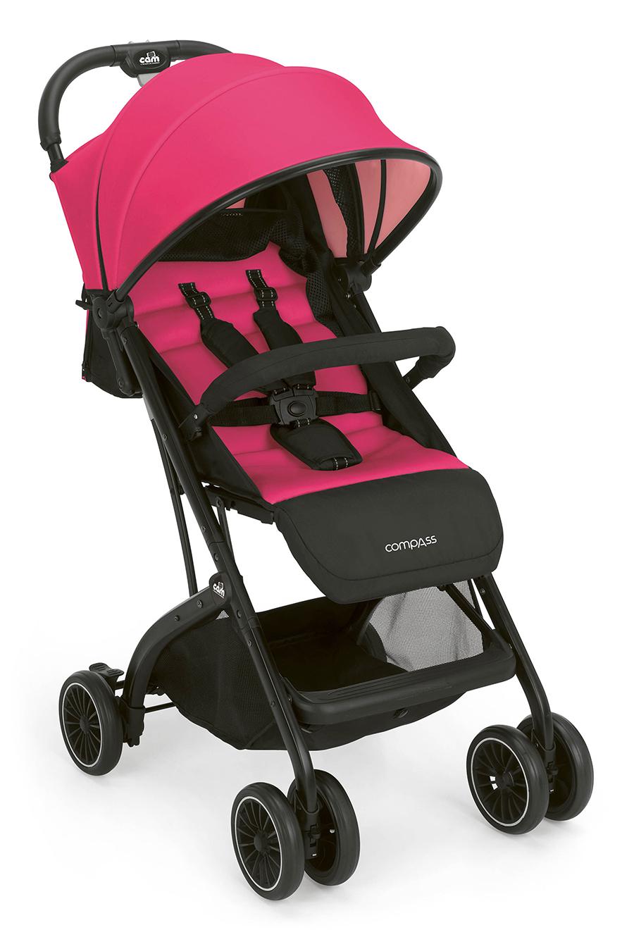 Детская коляска Cam Compass (розовый)