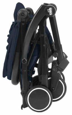 Детская Коляска CAM Cubo (синий/черный)