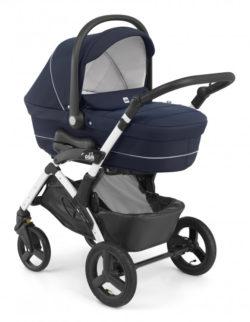 Детская коляска CAM Dinamico 4s (темно-синий)