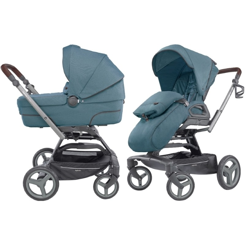 Детская коляска Inglesina QUAD (голубой)