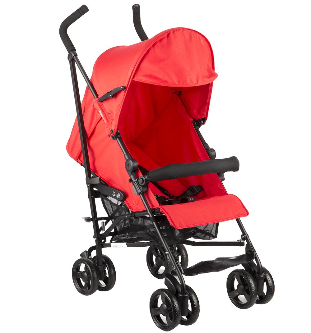 Детская коляска Inglesina Swift с бампером (красный)