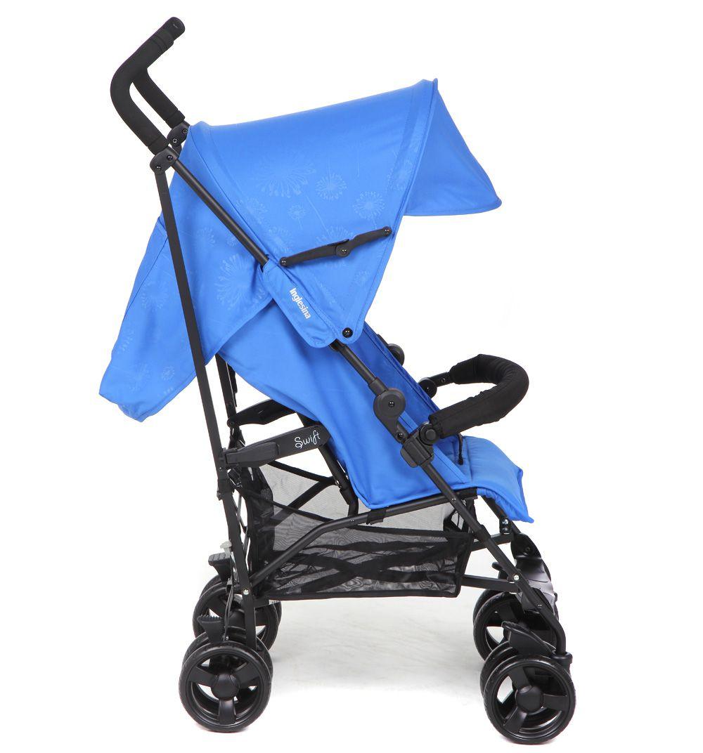 Детская коляска Inglesina Swift с бампером (синий)