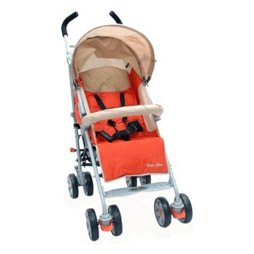 Коляска трость Baby Care Polo (красный/бежевый)