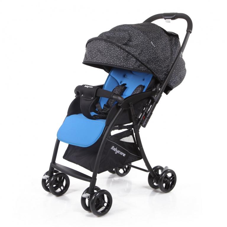 Прогулочная коляска Baby Care Sky (голубой/трость)