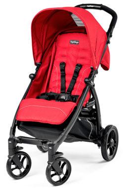 Прогулочная коляска Peg Perego Booklet Lite Classico (Красный)