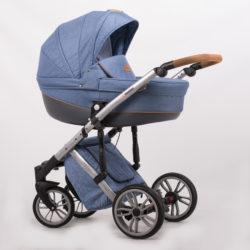 Детская коляска LONEX COMFORT PRESTIGE 2 В 1 (голубой)